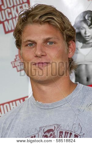 HOLLYWOOD - JULY 25: Travis Van Winkle at the premiere of John Tucker Must Die on July 25, 2006 at Grauman's Chinese Theatre in Hollywood, CA.