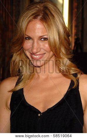 HOLLYWOOD - AUGUST 15: Deborah Gibson at the Los Angeles Premiere of Dirty Rotten Scoundrels on August 15, 2006 at Pantages Theatre in Hollywood, CA.