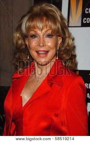 HOLLYWOOD - AUGUST 15: Barbara Eden at the Los Angeles Premiere of Dirty Rotten Scoundrels on August 15, 2006 at Pantages Theatre in Hollywood, CA.