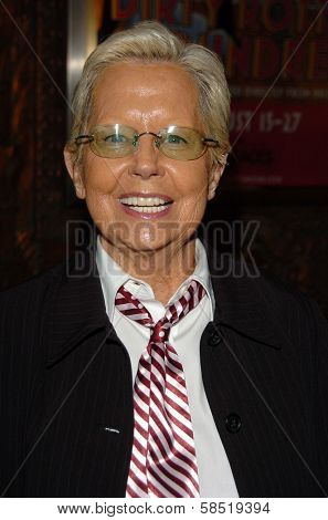 HOLLYWOOD - AUGUST 15: Billie Hayes at the Los Angeles Premiere of Dirty Rotten Scoundrels on August 15, 2006 at Pantages Theatre in Hollywood, CA.
