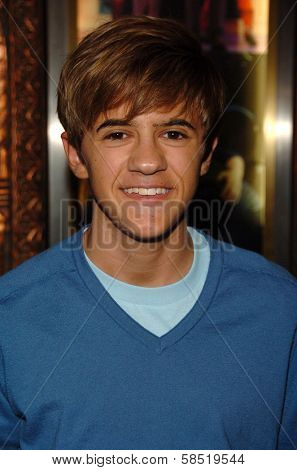 HOLLYWOOD - AUGUST 15: Rob Pinkston at the Los Angeles Premiere of Dirty Rotten Scoundrels on August 15, 2006 at Pantages Theatre in Hollywood, CA.