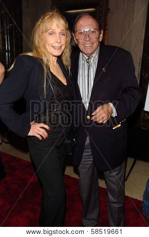 HOLLYWOOD - AUGUST 15: Stella Stevens and Marvin Paige at the Los Angeles Premiere of Dirty Rotten Scoundrels on August 15, 2006 at Pantages Theatre in Hollywood, CA.