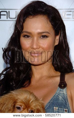 MALIBU, CA - AUGUST 05: Tia Carrere at