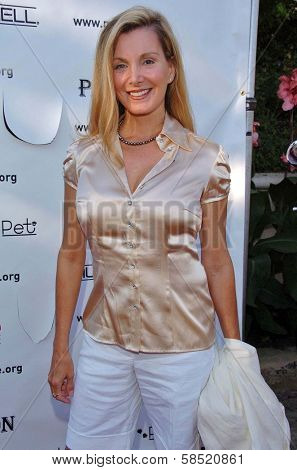 MALIBU, CA - AUGUST 05: Megan Blake at