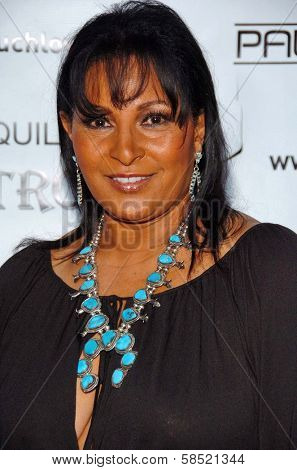 MALIBU, CA - AUGUST 05: Pam Grier at