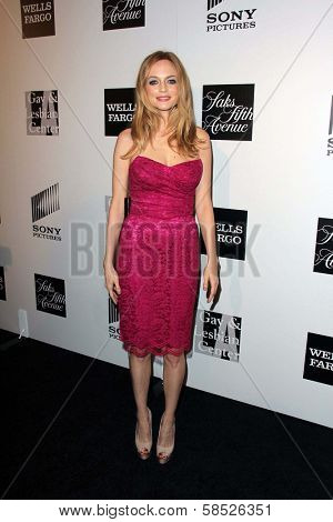Heather Graham at the L.A. Gay And Lesbian Center Hosts 'An Evening' honoring Amy Pascal and Ralph Ricci, Beverly Wilshire, Beverly Hills, CA 03-21-13