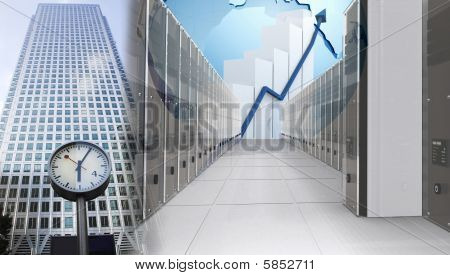 Abstract Business Illustration