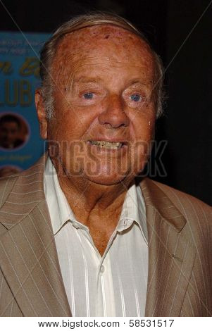 HOLLYWOOD - AUGUST 01: Dick Van Patten at the Los Angeles Premiere of