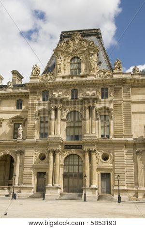 Pavilion Colbert of Louvre in Paris
