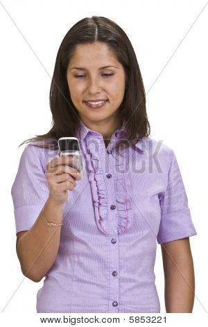 005350Woman With Mobile Phone Pc4 Jpg