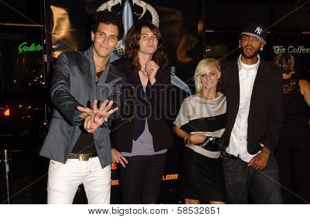 HOLLYWOOD - AUGUST 17: Cobra Starship at the Los Angeles Premiere of