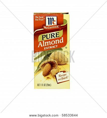 Box Of Mccormick Almond Extract