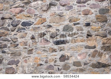 Old Field Stone Wall Background