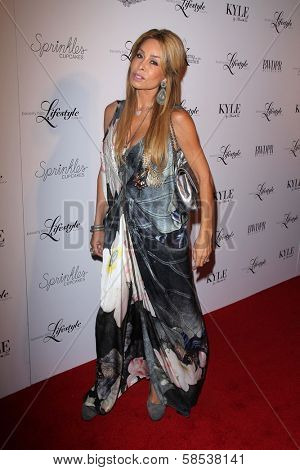 BEVERLY HILLS - SEPTEMBER 27: Faye Resnick at the Beverly Hills Magazine Fall Launch Party at Kyle By Alene Too on September 27, 2012 in Beverly Hills, CA.