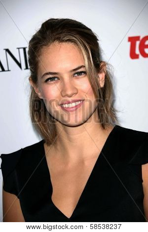 BEVERLY HILLS - SEPTEMBER 27: Cody Horn at Teen Vogue's 10th Anniversary Annual Young Hollywood Party in Private Location on September 27, 2012 in Beverly Hills, CA.