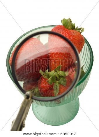 Strawberries In Detail