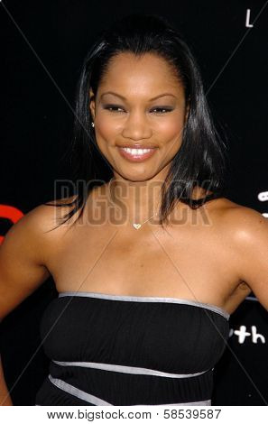 LOS ANGELES - APRIL 12: Garcelle Beauvais at the 3rd Annual Bodog Celebrity Poker Invitational at Barker Hangar on April 12, 2006 in Santa Monica, CA.