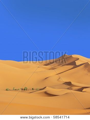 Marocco pustynia Erg Chebbi