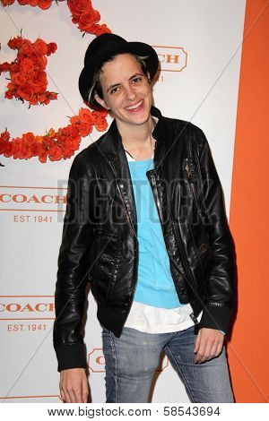 Samantha Ronson at Coach's 3rd Annual Evening of Cocktails and Shopping benefiting  the Children's Defense Fund, Bad Robot, Santa Monica, CA 04-10-13