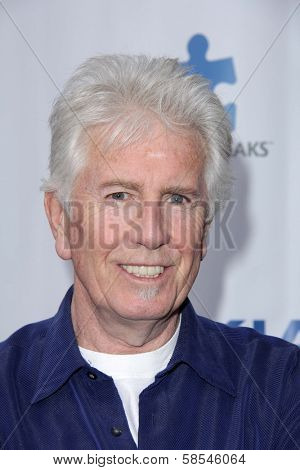 Graham Nash at the Light Up The Blues Concert Benefiting Autism Speaks, Club Nokia, Los Angeles, CA 04-13-13