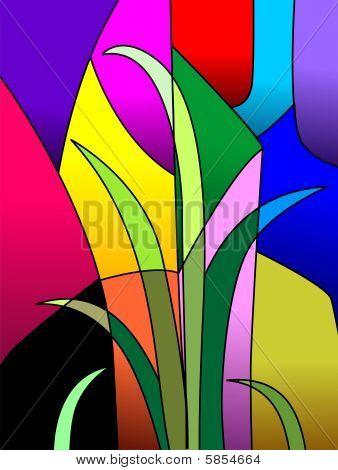 geometrical painting