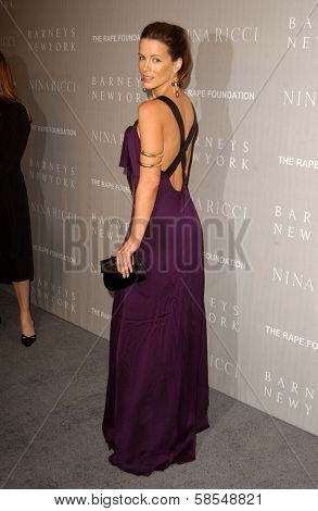 BEVERLY HILLS - APRIL 26: Kate Beckinsale at the Nina Ricci Fashion Show and Gala Dinner to Benefit The Rape Foundation by Barneys New York at Barneys New York on April 26, 2006 in Beverly Hills, CA.