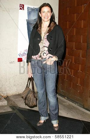 LOS ANGELES - APRIL 24: Mimi Rogers at the Brandon Davis and Replay celebrate store opening and the launch of The Brandon Davis Jean at Falcon on April 24, 2006 in Los Angeles, CA.