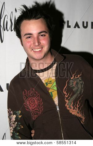 HOLLYWOOD - APRIL 06: Jake Coco at Flaunt Magazine Presents Nefarious Fine Jewelry Hosted by Velvet Revolver at Black Steel Restaurant on April 06, 2006 in Hollywood, CA.