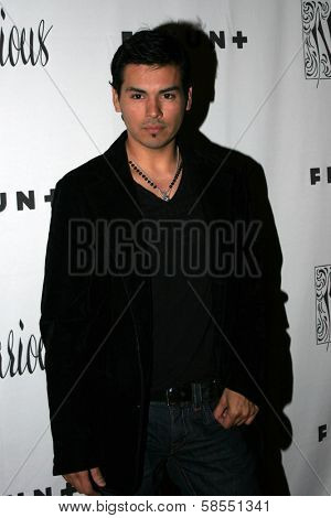 HOLLYWOOD - APRIL 06: Michael Solis at Flaunt Magazine Presents Nefarious Fine Jewelry Hosted by Velvet Revolver at Black Steel Restaurant on April 06, 2006 in Hollywood, CA.