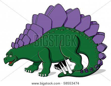 Stegosaurus for children
