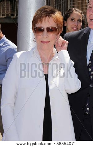 Carol Burnett at the unveiling of Carol Burnett Square at Selma and Highland in Hollywood, 04-18-13