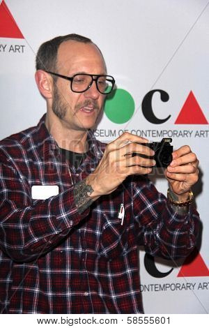 Terry Richardson at the MOCA Gala, MOCA Grand Avenue, Los Angeles, CA 04-20-13