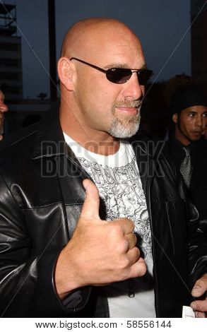 HOLLYWOOD - APRIL 30: Bill Goldberg at the Larpy Awards at Avalon on April 30, 2006 in Hollywood, CA.
