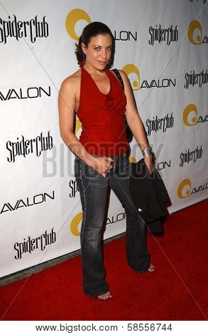 HOLLYWOOD - APRIL 30: Tiffany Shepis at the Larpy Awards at Avalon on April 30, 2006 in Hollywood, CA.