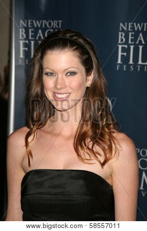 NEWPORT BEACH - APRIL 20: Emily Harrison at the 7th Annual Newport Beach Film Festival Opening Night Screening of