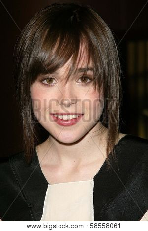 HOLLYWOOD - APRIL 10: Ellen Page at the Los Angeles Premiere of