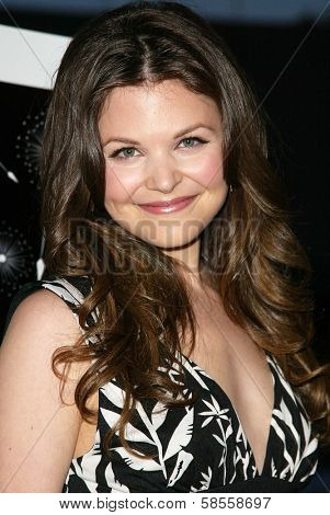 HOLLYWOOD - APRIL 05: Ginnifer Goodwin at the opening of Sienna Boutique at Sienna on April 05, 2006 in Los Angeles, CA.