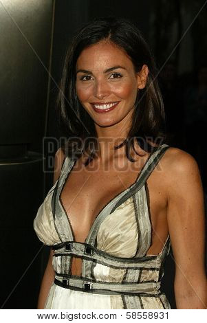 HOLLYWOOD - APRIL 17: Ines Sastre at the Los Angeles Premiere of