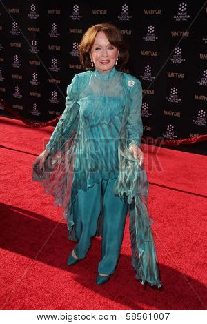 Ann Blyth at the TCM Classic Film Festival Opening Night Red Carpet Funny Girl, Chinese Theater, Hollywood, CA 04-25-13
