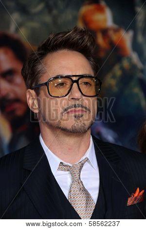 Robert Downey Jr. at the