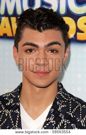 Adam Irigoyen at the 2013 Radio Disney Music Awards, Nokia Theater, Los Angeles, CA 04-27-13
