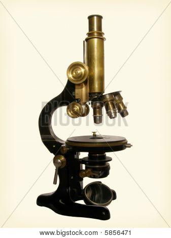 El microscopio de bronce