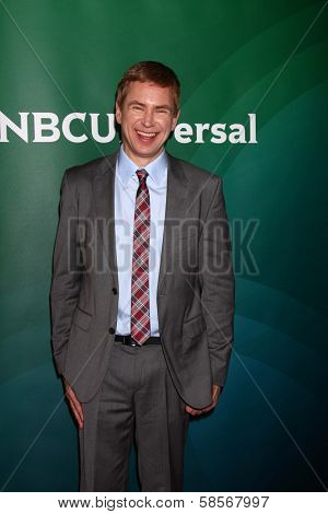 Pat Kiernan at the 2013 NBC Universal Summer Press Day , Langham Huntington Hotel, Pasadena, CA 04-22-13