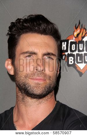 Adam Levine at The Voice Season 4 Red Carpet, House Of Blues, West Hollywood, CA 05-08-13