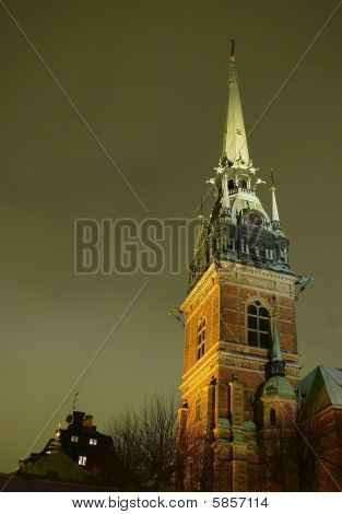 Church Tyska In Stockholm