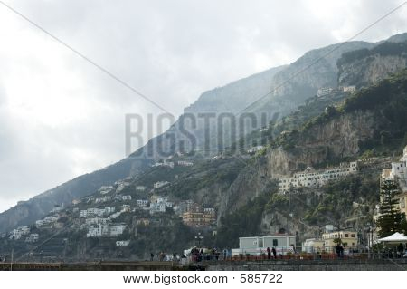 poster of Amalfi City View, Italy