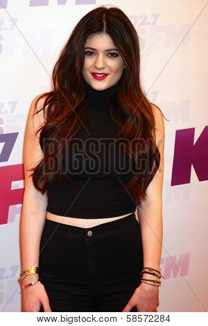 Kylie Jenner at the 2013 Wango Tango concert produced by KIIS-FM, Home Depot Center, Carson, CA 05-11-13