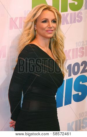 Britney Spears at the 2013 Wango Tango concert produced by KIIS-FM, Home Depot Center, Carson, CA 05-11-13