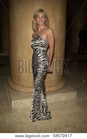Libby Hudson at the 6TH ANNUAL GOLDEN SATELLITE AWARDS:  Thrown by the International Press Academy, honoring Moulin Rouge and Karl Malden at St. Regis Hotel, Century City, 1-19-02