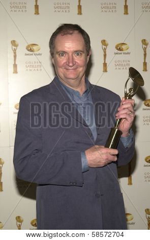 Jim Broadbent at the 6TH ANNUAL GOLDEN SATELLITE AWARDS:  Thrown by the International Press Academy, honoring Moulin Rouge and Karl Malden at St. Regis Hotel, Century City, 1-19-02